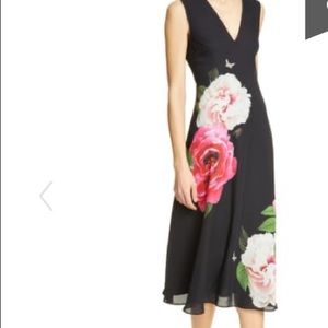 Ted Baker London Magnificent black dress size one